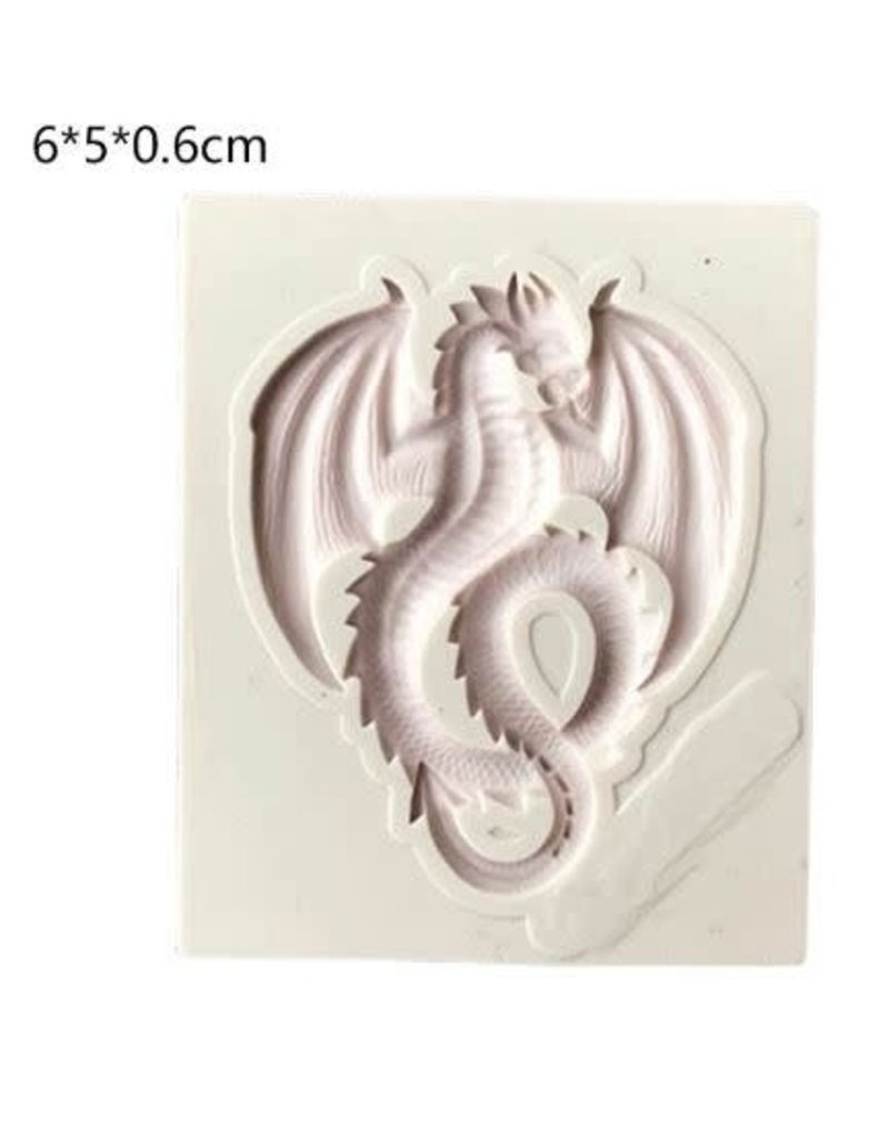 Just Sculpt Silicone Mold Dragon