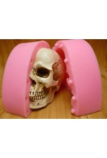 Just Sculpt Silicone Mold Skull (2 part)