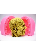 Just Sculpt Silicone Mold Anatomical Head (2 part)