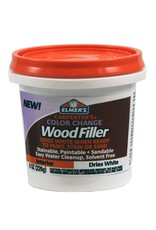 Elmer's Carpenter's® Color Change Wood Filler Dries White - 8oz