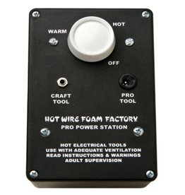 Hot Wire Foam Factory Variable-Heat Pro Power Station