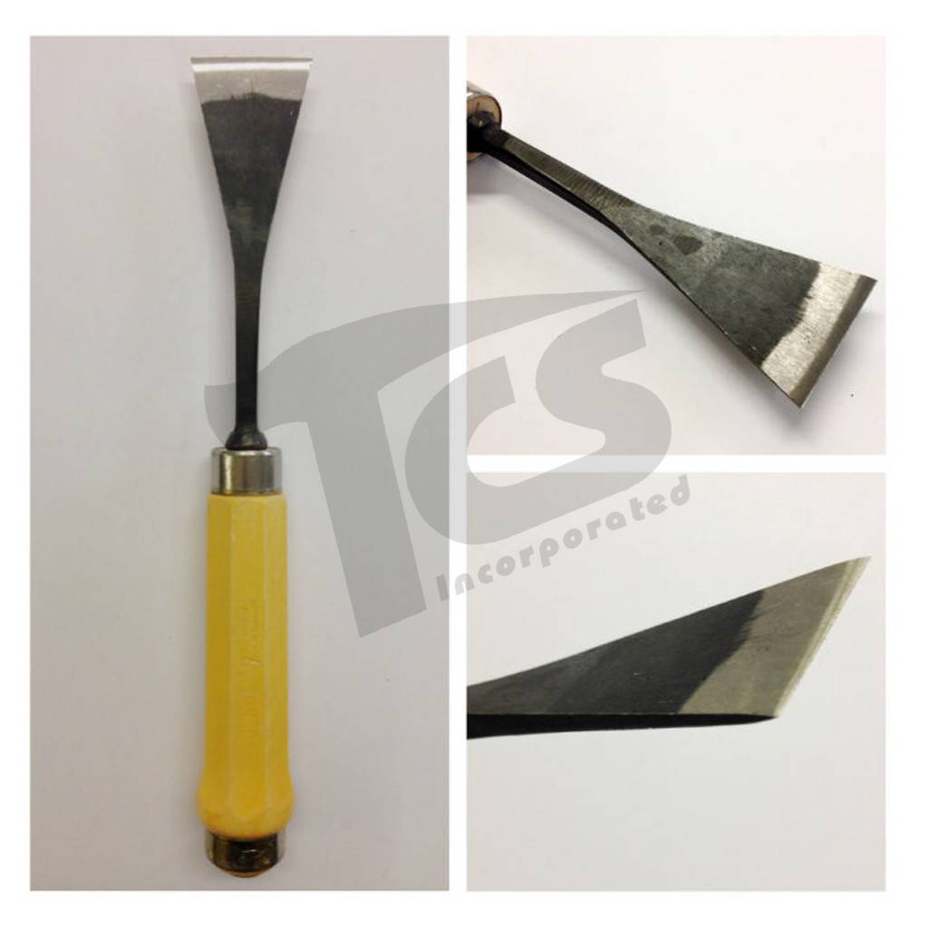 "Sculpture House #1/#50 Fish Tail Flat Chisel 2"" (50mm)"