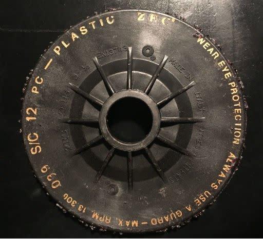 """ZEC 4.5"""" Litex Zec Disc 12Grit"""