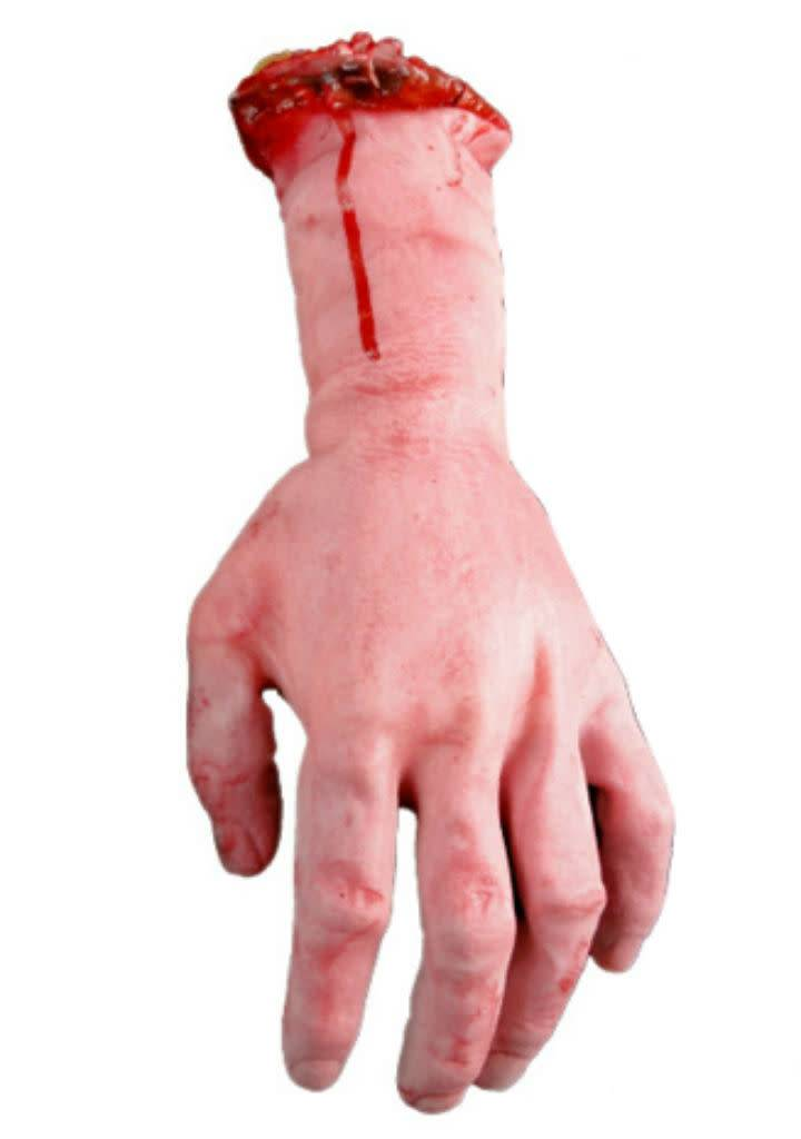 Just Sculpt Severed Bloody Left Hand Latex Foam