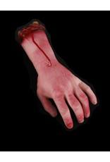 Severed Bloody Left Hand Latex Foam