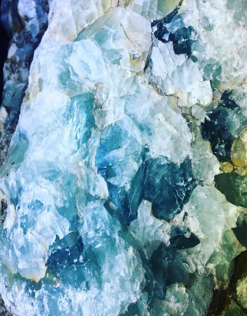 Stone Flourite by the pound