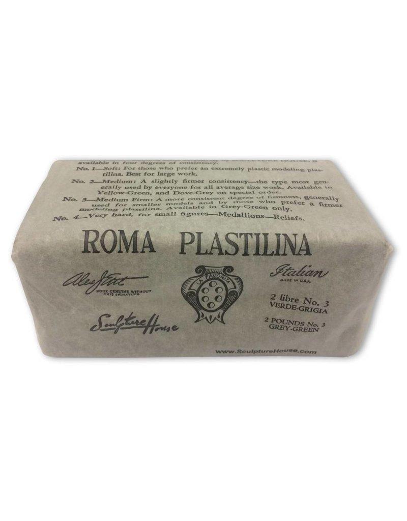 Sculpture House ROMA #3 Firm Plastilina 2lb