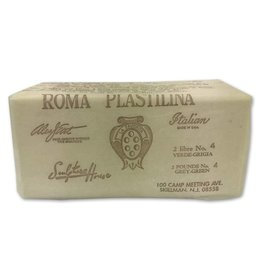 Sculpture House ROMA #4 White Plastilina 2lb