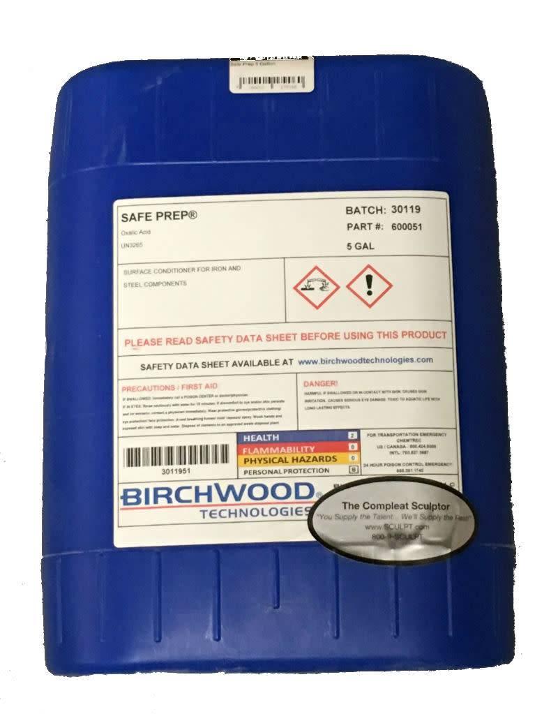 Birchwood Technologies Safe Prep 5 Gallon