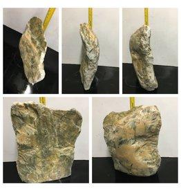 Stone 68lb Orange Soapstone 17x13x3 #041017