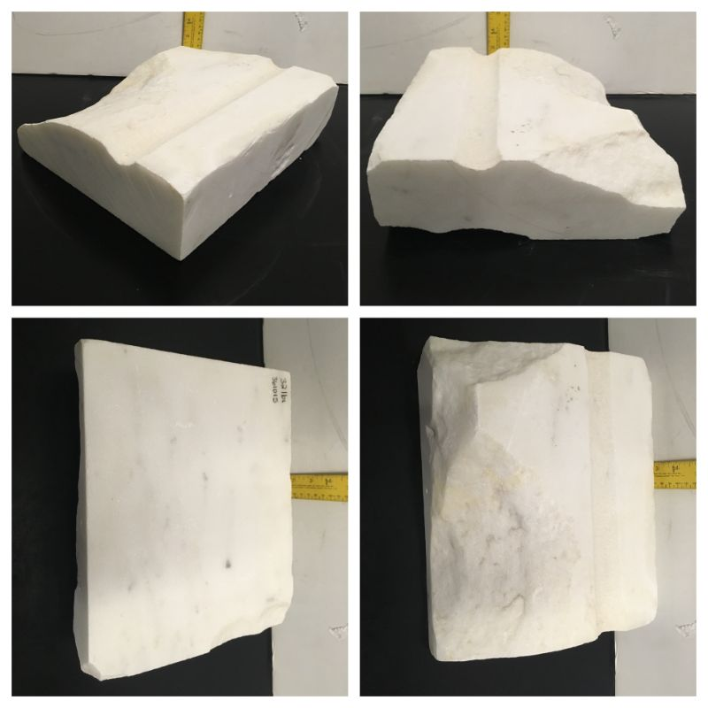 32lb Statuario Puro Bianco Marble 12x9x3 #361015