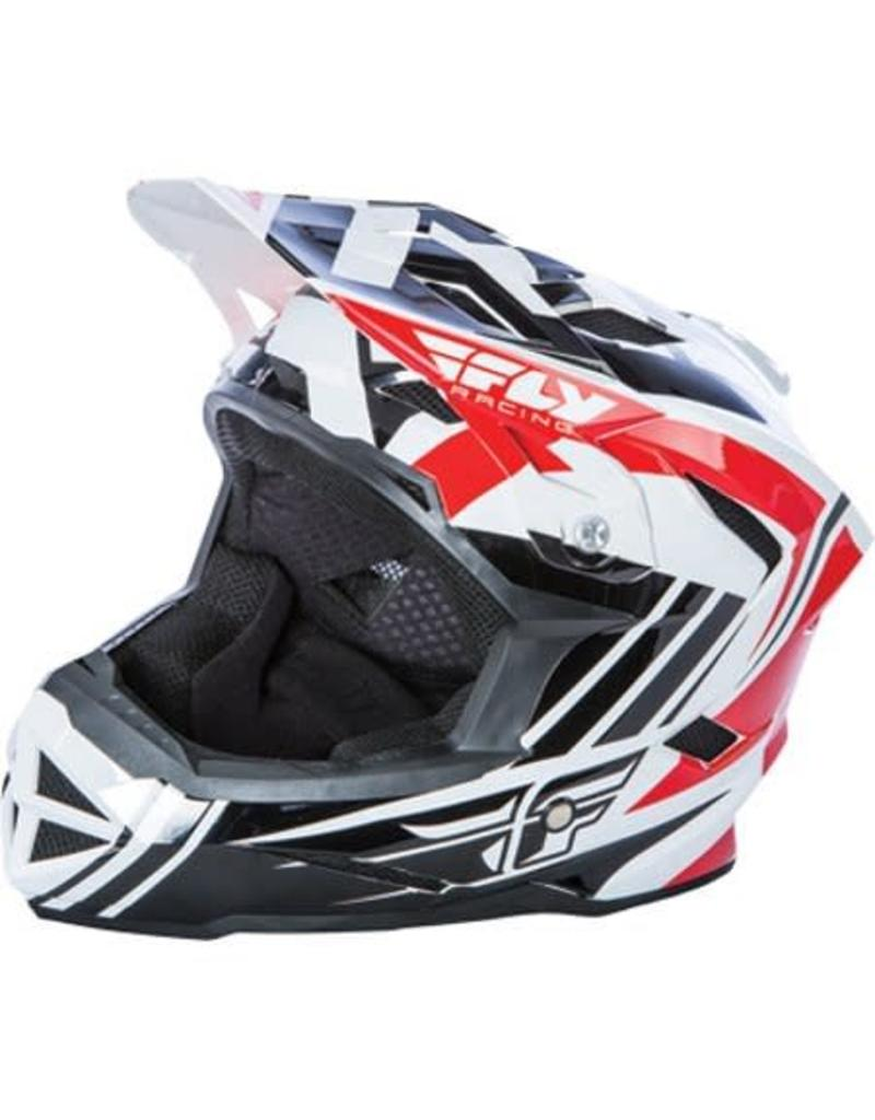 Fly Racing Fly Racing, Casque intégral Default, Rouge