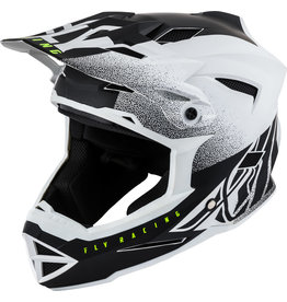 Fly Racing Fly Racing, Casque Default (Blanc/Noir) XS
