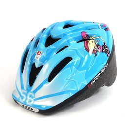 Louis Garneau, Casque Enfant Flow Bleu Cheers S/M, 48-52cm