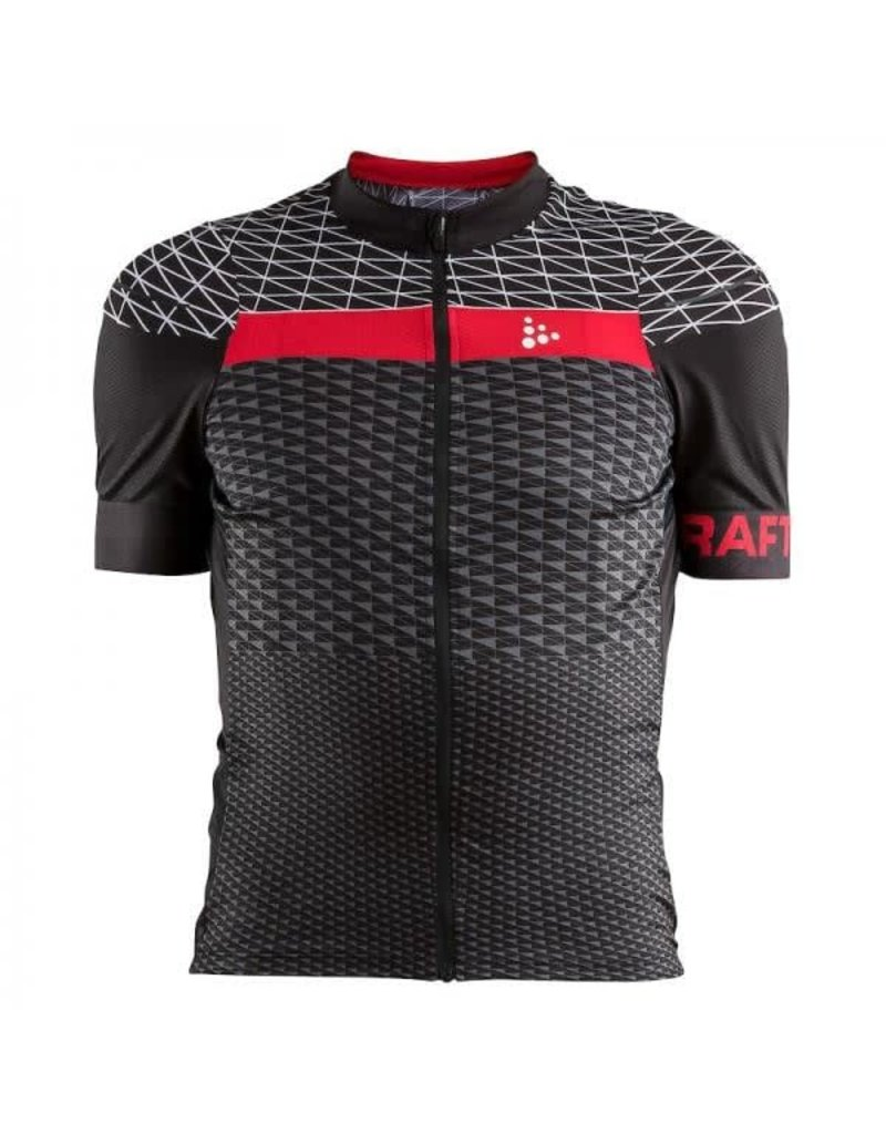 Craft Craft, Maillot Route Noir/Rouge