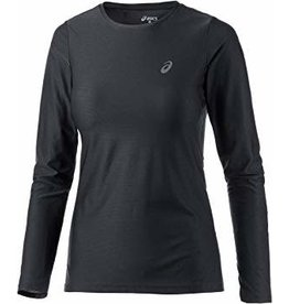 Asics, T-Shirt LS Essentiel Homme Noir