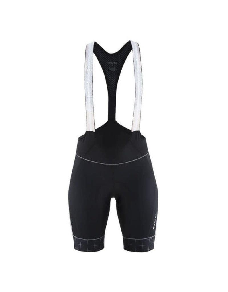 Craft Craft, Belle Glow Bib Shorts, femme, noir, S