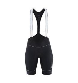Craft Craft, Belle Glow Bib Shorts, femme, noir, L