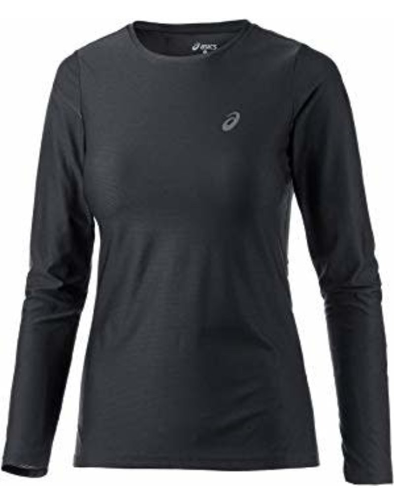Asics, T-Shirt LS essentiel Femme Noir
