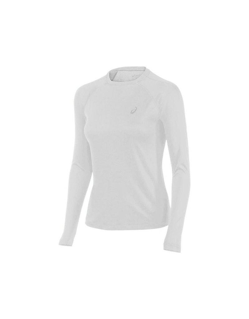 Asics, T-Shirt LS essentiel Femme Blanc XL
