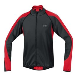 Gore Bike Wear Gore Bike Wear, Manteau Phantom 2.0 SO, Noir-Rouge