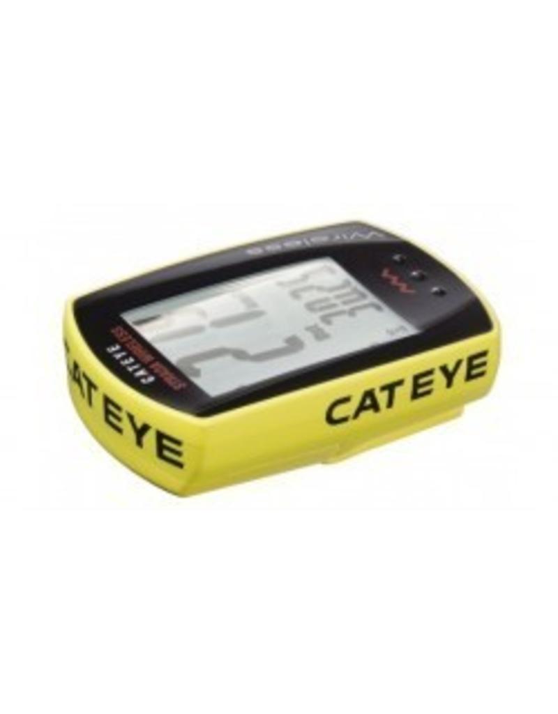 Cateye, Cyclometre strada sans-fil Jaune 8 fcts