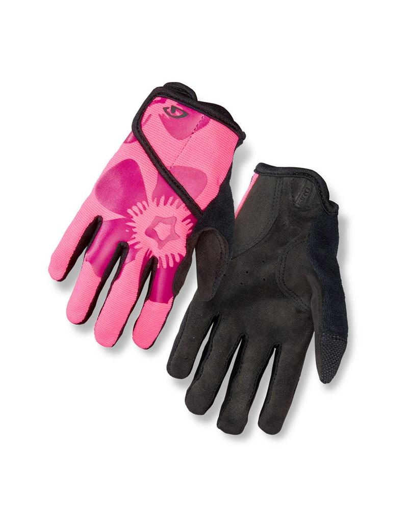 Giro, Gants long DND JR Rose Fleur