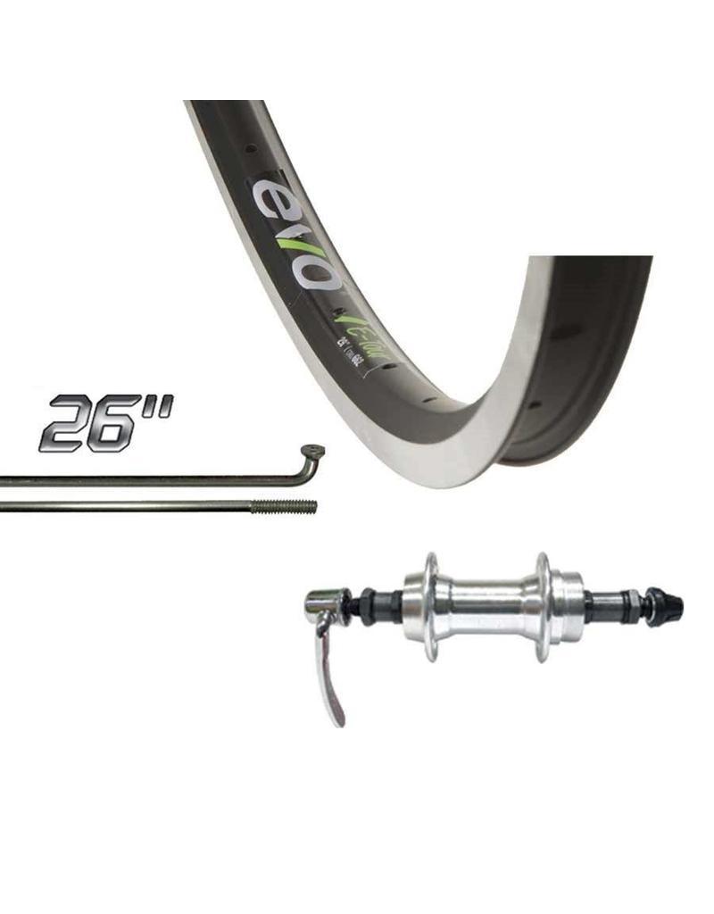 Wheel Shop EVO Roue arrière E-Tour 26'' FW QR Noir