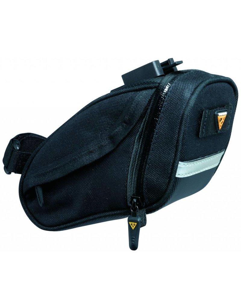 Topeak, Sac de selle Aero Wedge Pack DX Noir Small