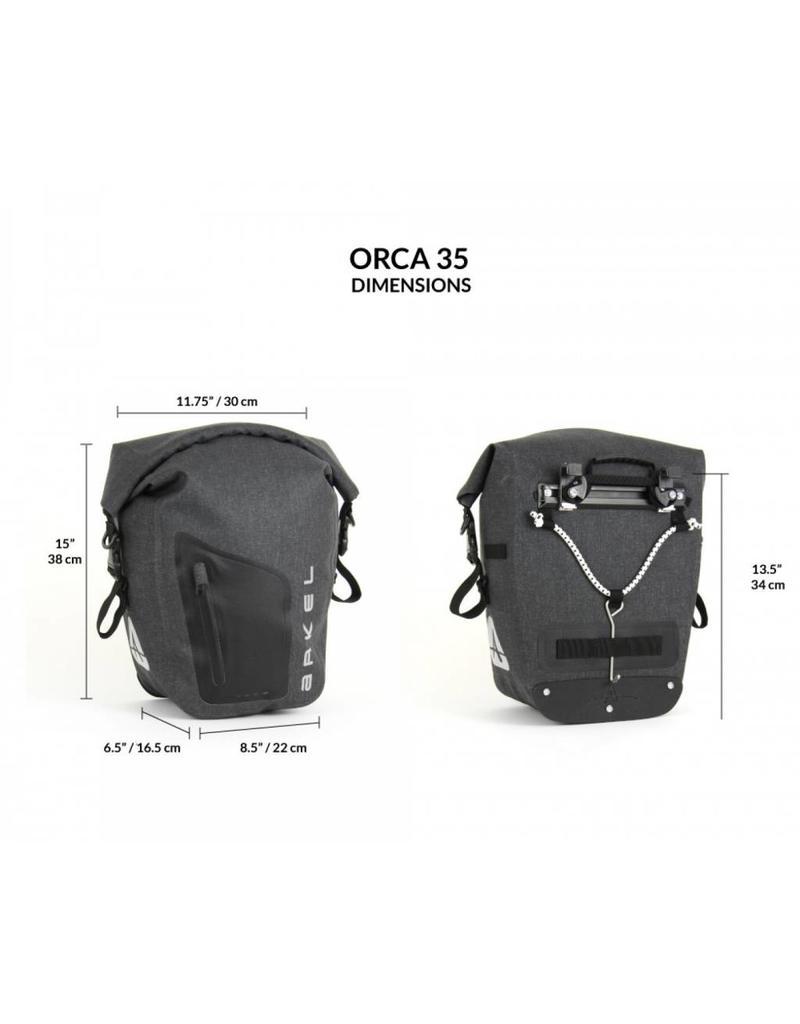 Arkel, Sacoches Etanche Orca 35 (paire) Gris