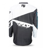Fly Racing Fly Racing, Jersey manche longue F-16 Jeunes Noir/blanc