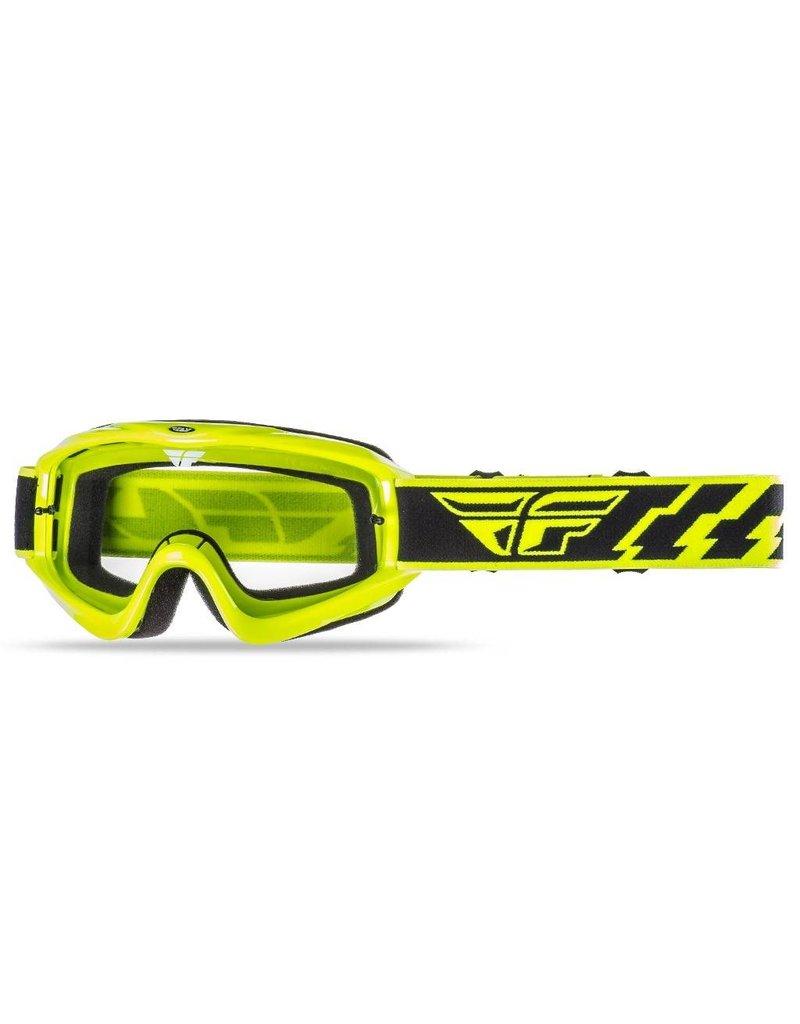Fly Racing, Goggle Focus jeunes, jaune