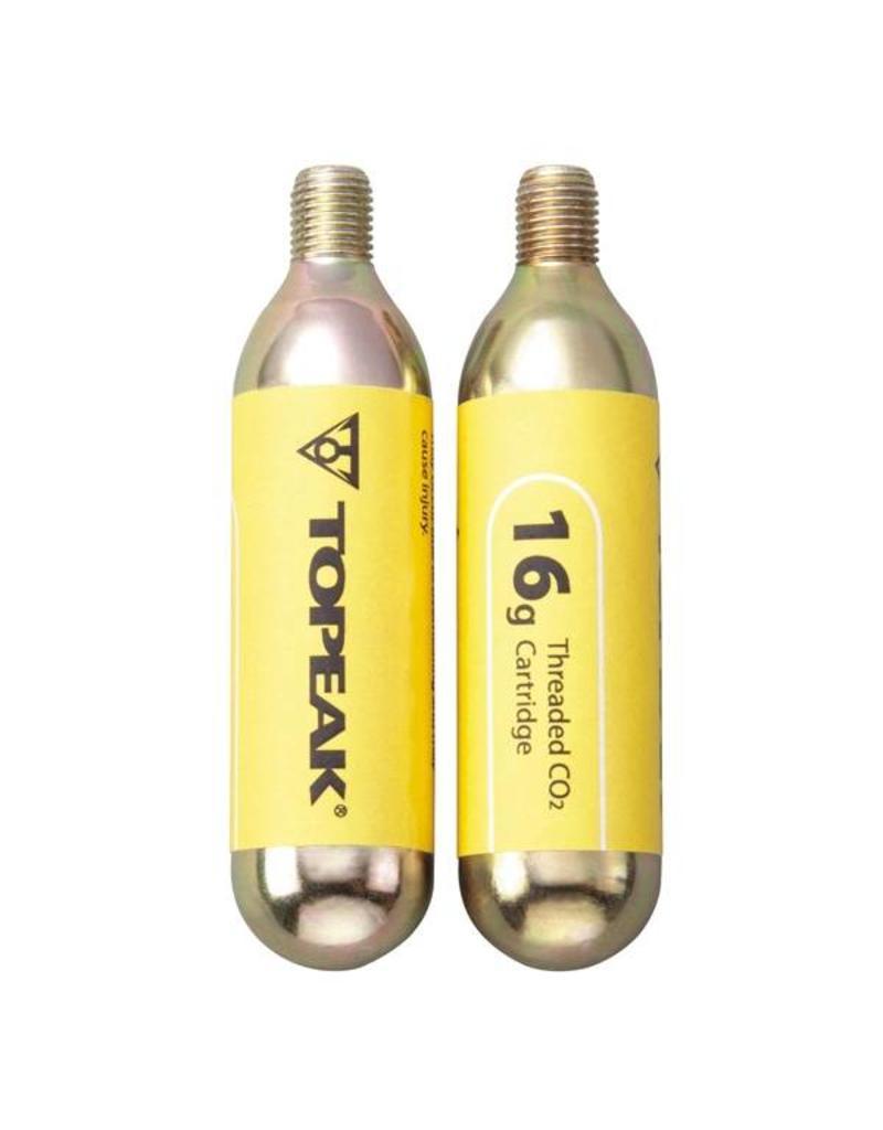Topeak, Cartouche CO2 non vissEe (2) 16 g