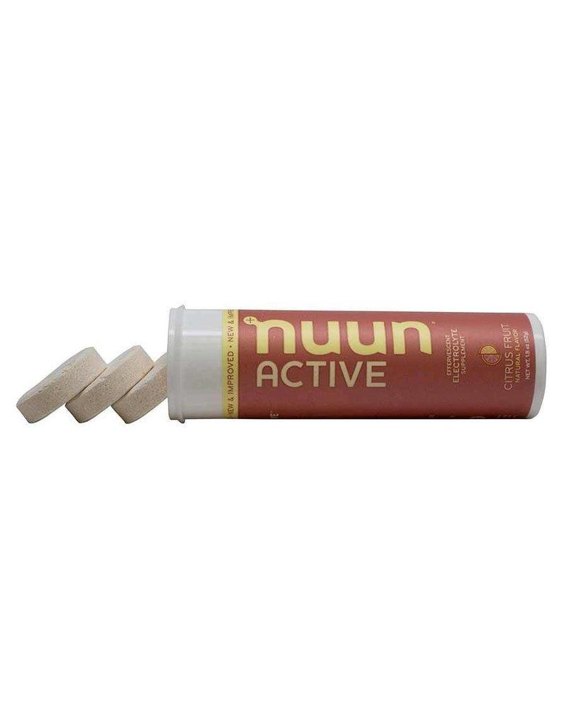 Nuun, Capsules d'Electrolytes, 10/tube (unité)
