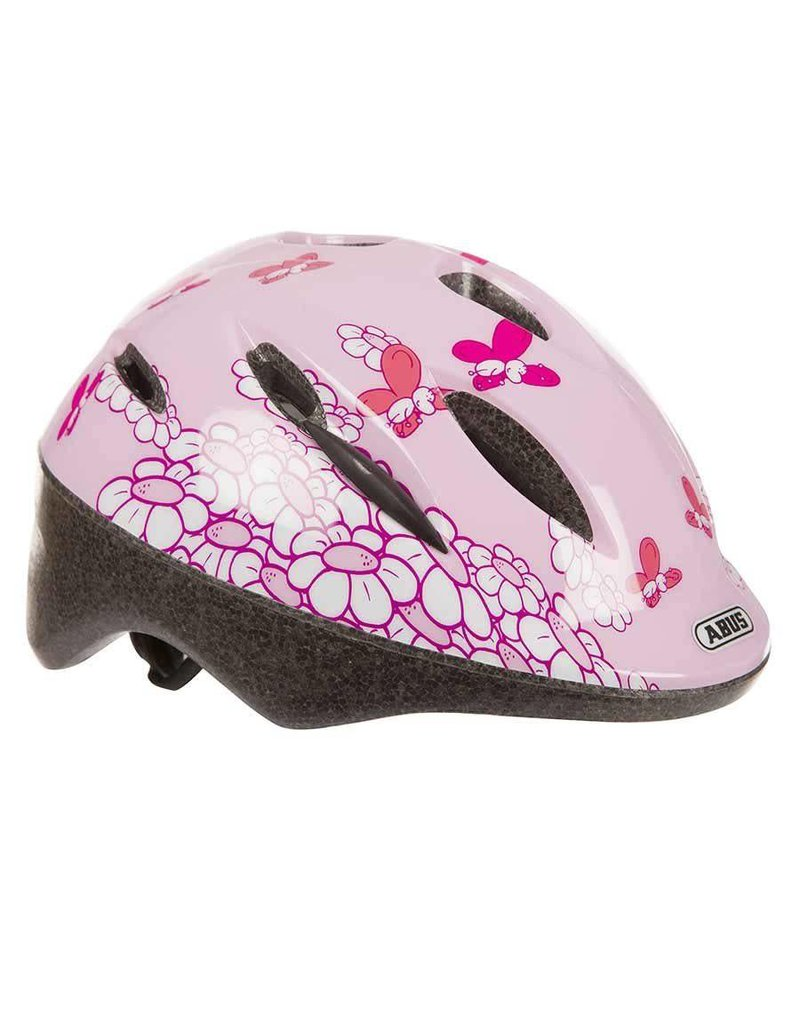 Abus, Casque Smooty, Rose Papillons