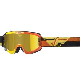 Fly Racing Fly Racing, Zone Race Goggles Jeunes (Smoke/Orange)