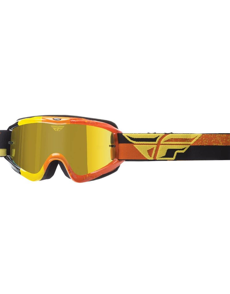 Fly Racing Fly Racing, Zone Race Goggles Jeunes (Smoke/Orange)