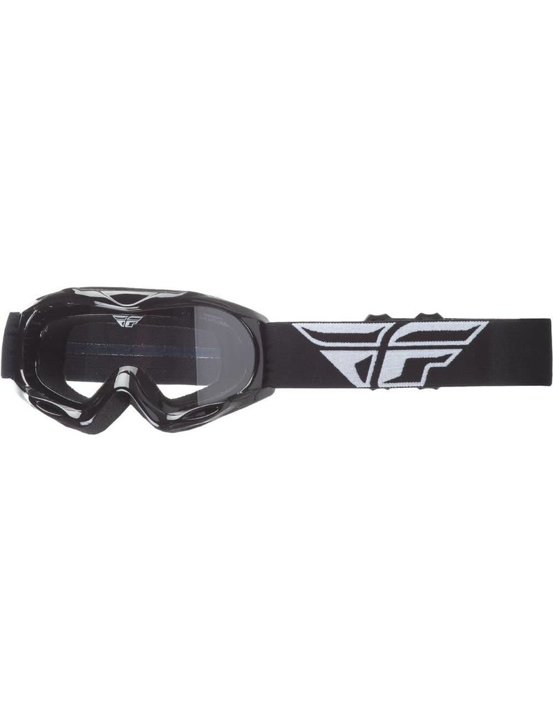 Fly Racing Fly Racing, Focus Race Goggles Jeunes (Clear/Black)