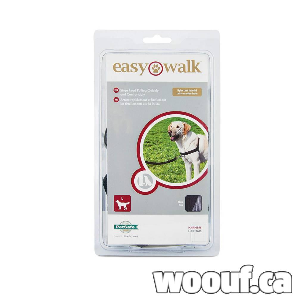 Easy Walk Harnais - Noir M/L
