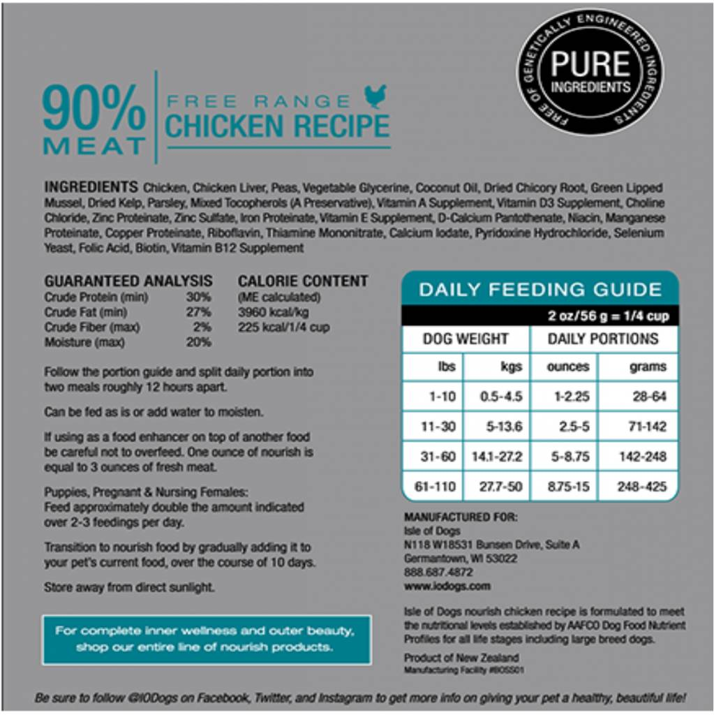 Nourish Chicken 8oz
