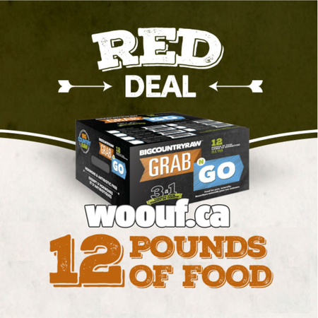 BCR Grab N Go - Red Deal 12lbs