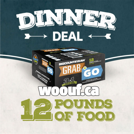 BCR Grab N Go - Dinner Deal 12lbs