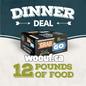 BCR Grab N Go - Dinner Deal 12lbs
