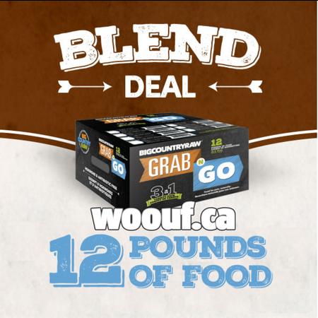 BCR Grab N Go - Blend Deal 12lbs