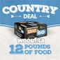 BCR Grab N Go - Country Deal 12lbs