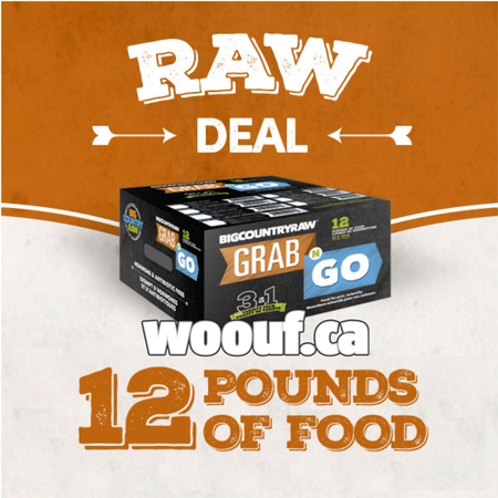 BCR Grab N Go - Raw Deal 12lbs