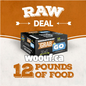 BCR Grab N Go - Raw Deal 12lbs