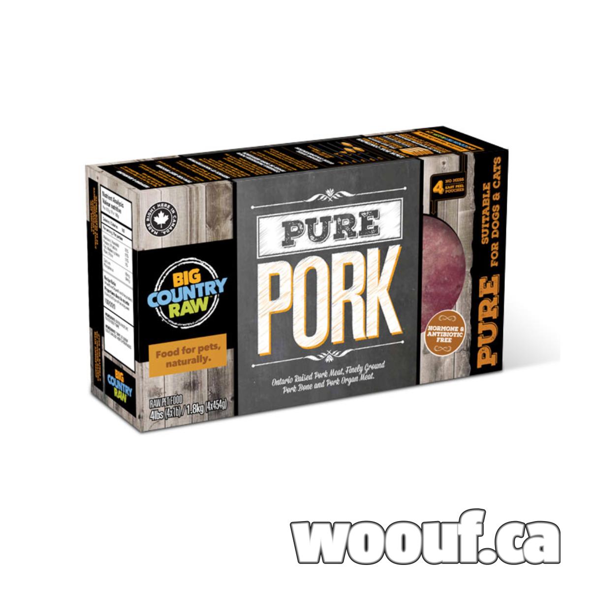 BCR Pure - Porc 4x 1lb