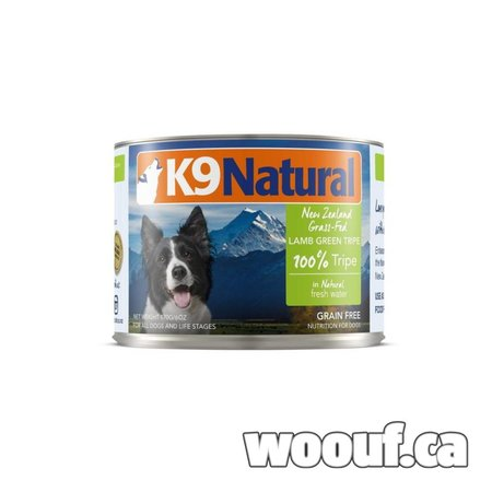 K9 Natural Can - Lamb Green Tripe 6oz