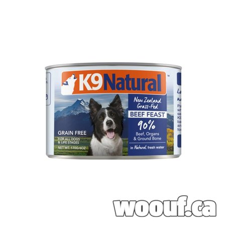 K9 Natural Can - Beef 6oz